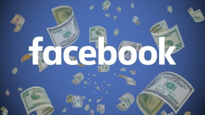 Facebook makes money